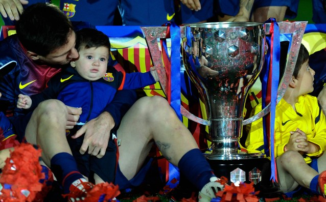 Messi will become a dad for the second time