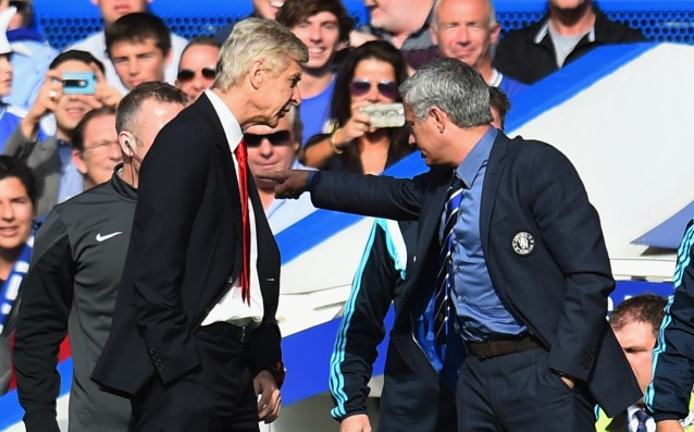 Arsene Wenger wanted more respect from Jose Mourinho