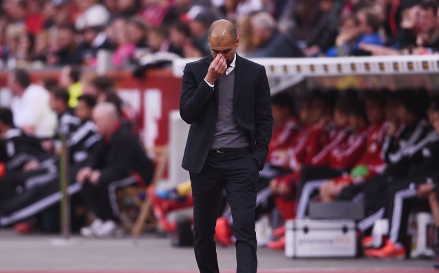 Guardiola is involving three central defenders against Barca