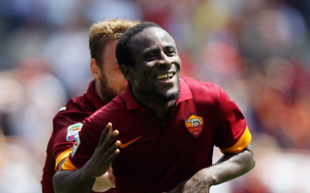 Doumbia is ready for the clash of Roma vs. Milan