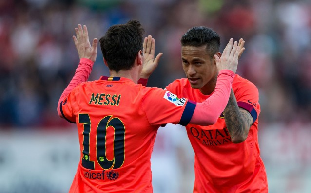 Neymar: I learn new things from Messi every day.
