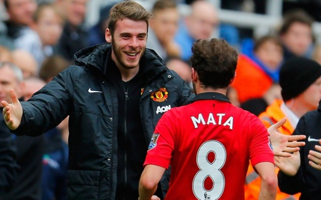 Mata hopes De Hea to remain in Manchester United