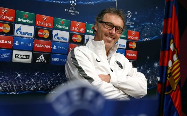 Laurent Blanc is trainer number 1 in France for the season
