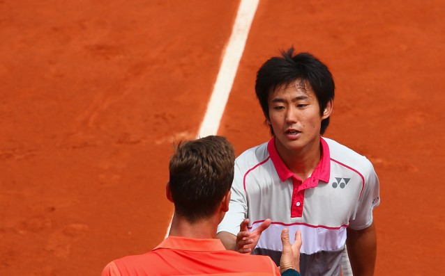 Berdych reached the second round of Roland Garros