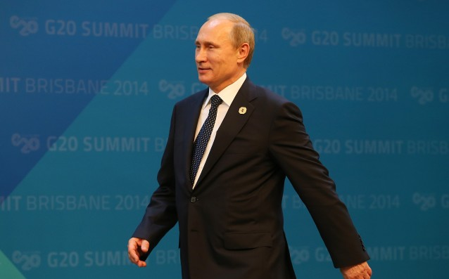 Putin blamed the United States for the crisis at FIFA