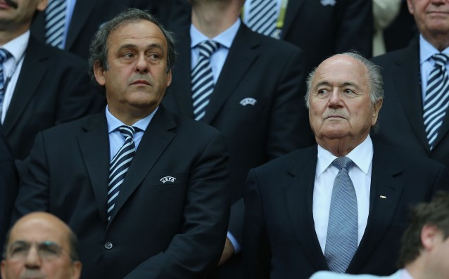 Platini asked for Blatter's resignation, he declined