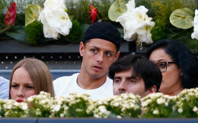 Chicharito presented his love for Lucy Viâlon