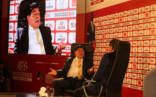 Maradona was suggested for President of FIFA