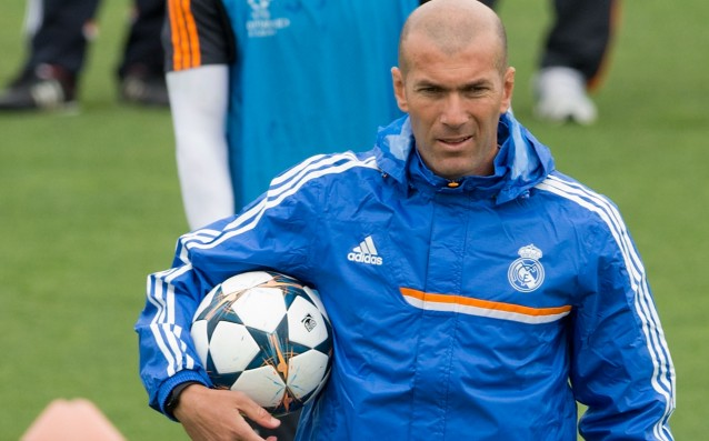 UEFA removed Zidane from the fan zone of Barca