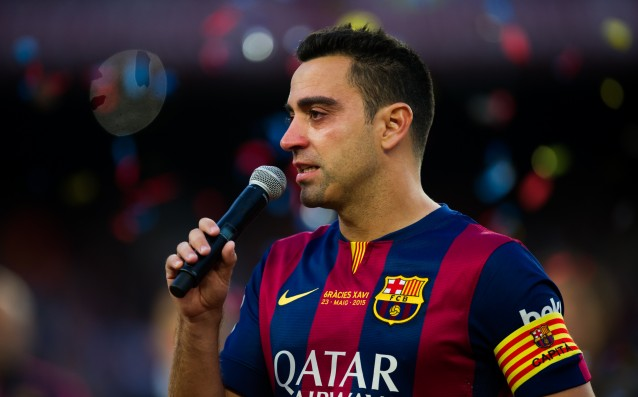 Xavi has become the main character of the Qatari press