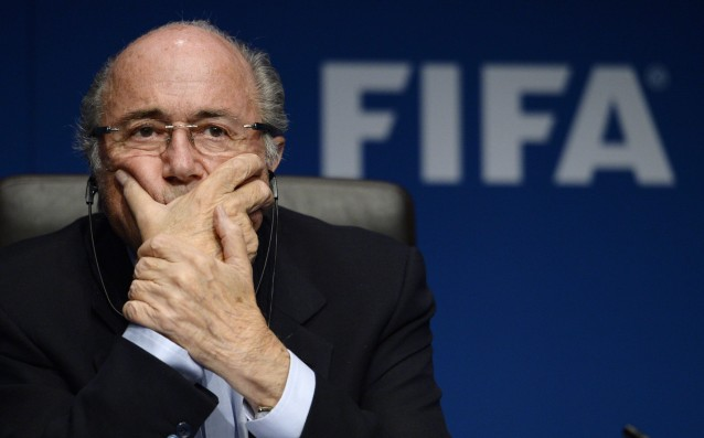Blatter: I'm proud of the work of FIFA.