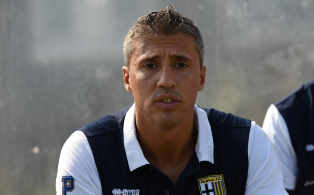 Hernan Crespo took the lead of the Italian Modena