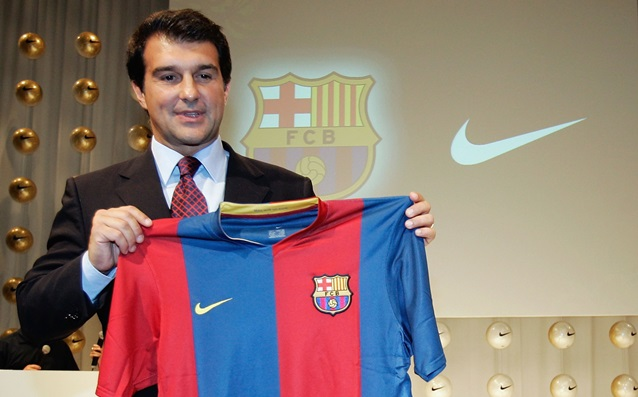 Laporta will return the UNICEF t-shirts of Barca
