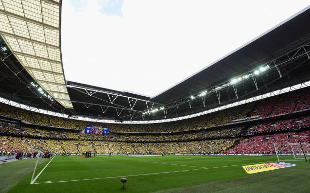 Chelsea pays 11 million pounds per year for 'Wembley'