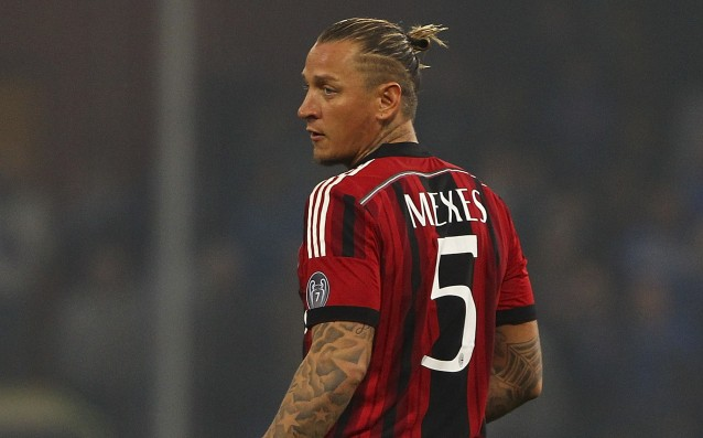 Philippe Mexes renewed his contract with Milan until 2016