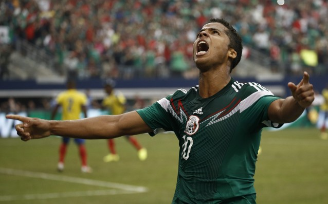 Giovani dos Santos will follow Gerard in LA Galaxy