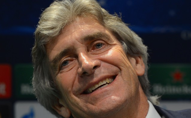 Pellegrini: 'Sterling is one of the best in the world.'