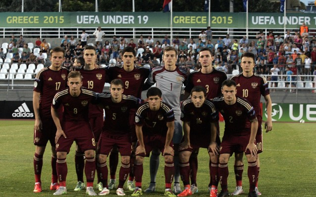 Russia-Spain is the final of the European championship for youngsters