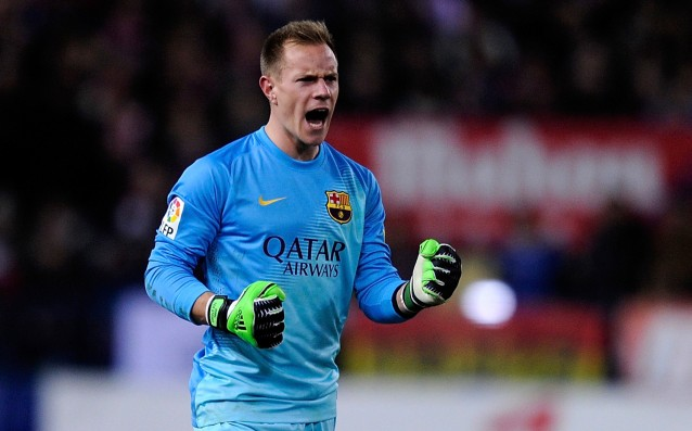 Ter Stegen is ambitious to replace Bravo from the titular place in Barca
