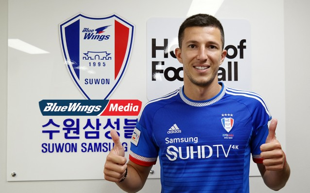 Mitsanski will play for a Korean team