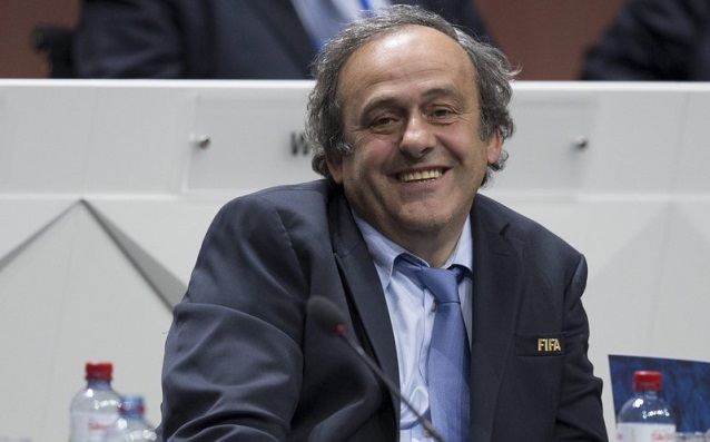 Platini is officially running for a head of FIFA