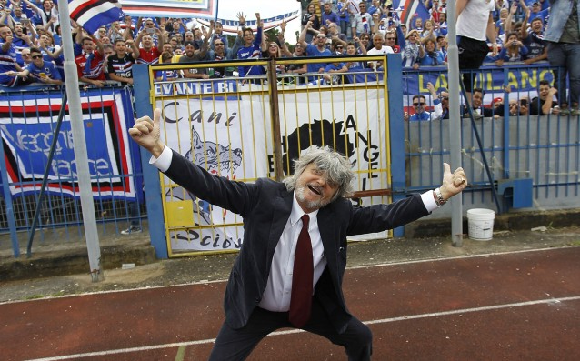 Sampdoria President: 'This is not my club.'