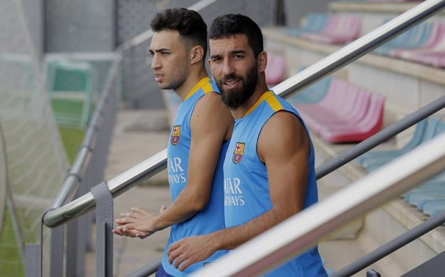 Arda Turan with a new injury