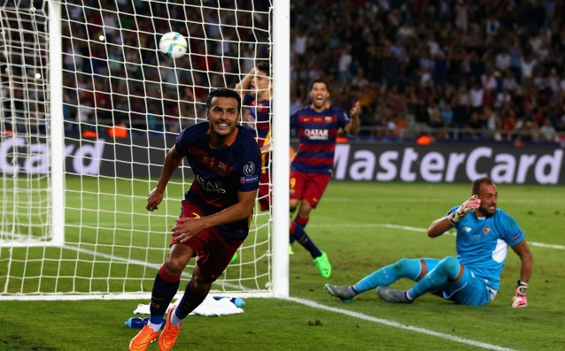 Pedro: 'I don't know if it was my last game in Barca.'