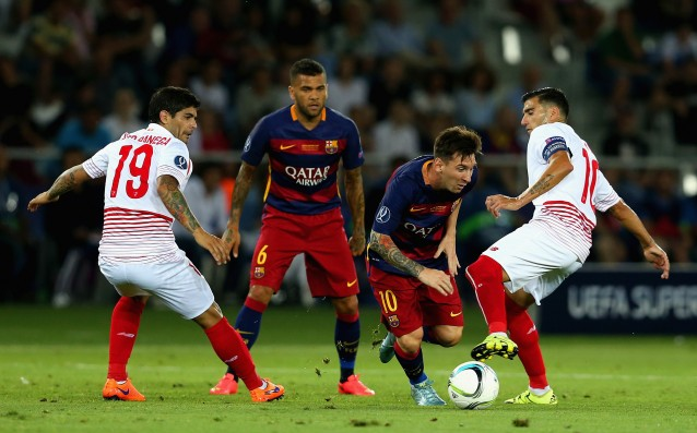 Messi: 'We calmed down at 4:1.'