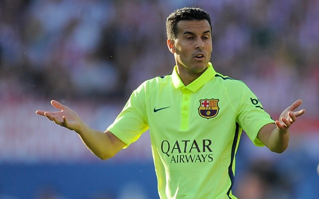 Barca announced: 'Pedro asked me to sell him.'