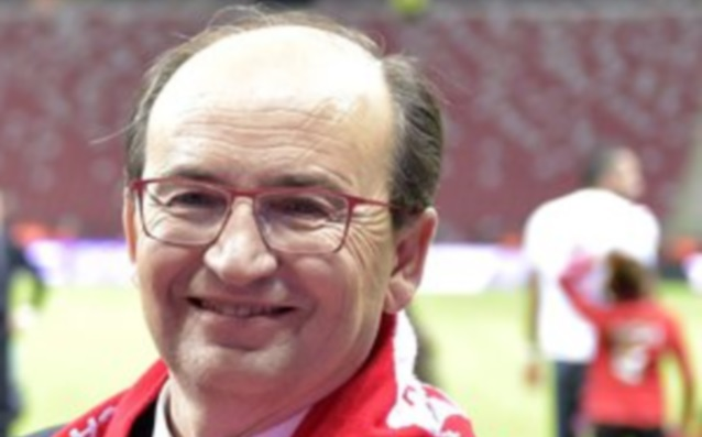 The President of Sevilla: 'I'm proud of the players.'
