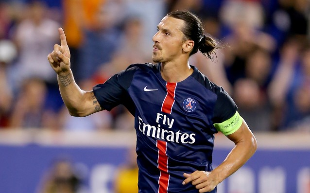 Zlatan Ibrahimovic will be out of game for ten more days