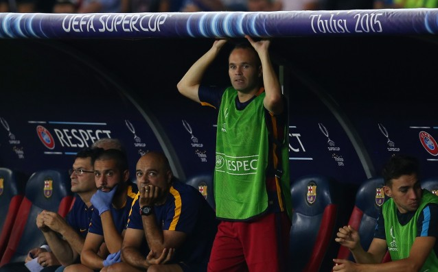 Iniesta: 'We suffered, but the most important thing is that we won.'