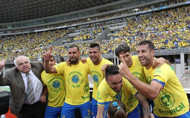 Las Palmas won 33 million euros from returning to the Primera