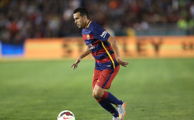 Battle between City and United for Pedro