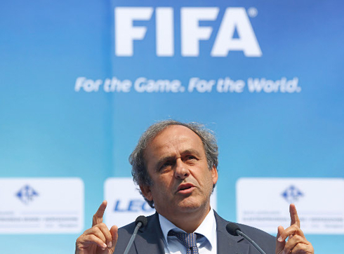 UEFA asked FIFA to investigate the file 'Platini'