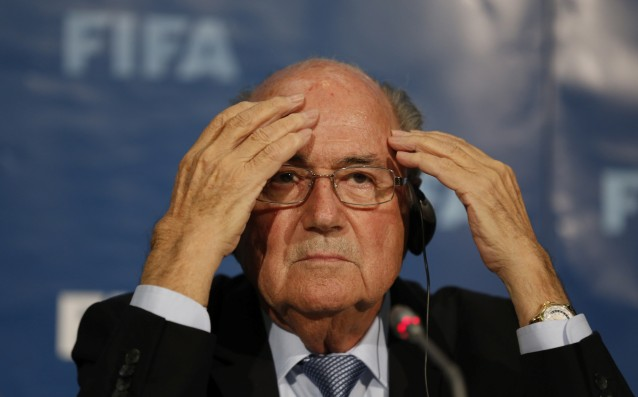 Blatter: 'I am an honest man.'