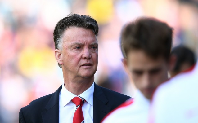 Van Gaal is more pleased with the defense than the attack