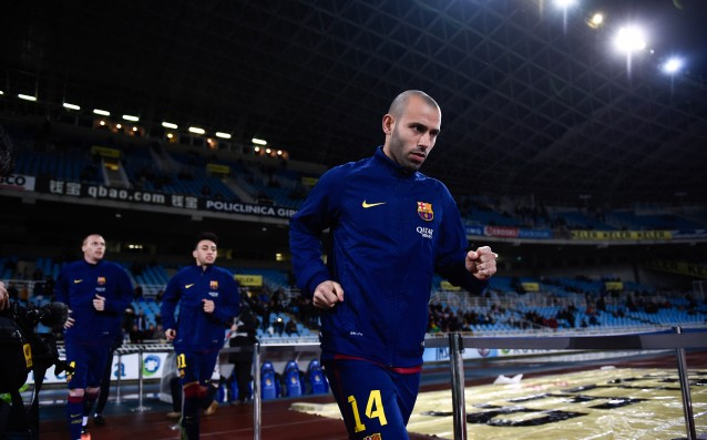 Mascherano: 'I would love to be a coach.'