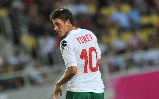 Tonev debuted for Frosinone, but his team lost