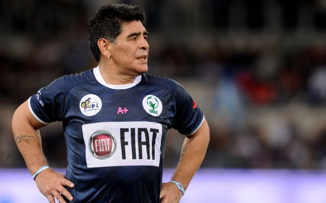 Maradona wants Pope Francis to get him married