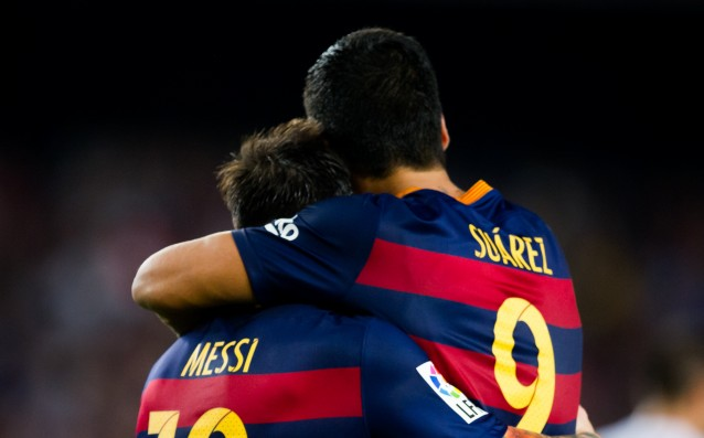 Luis Suarez: 'We are not jealous to Messi, we know that he is the best.'