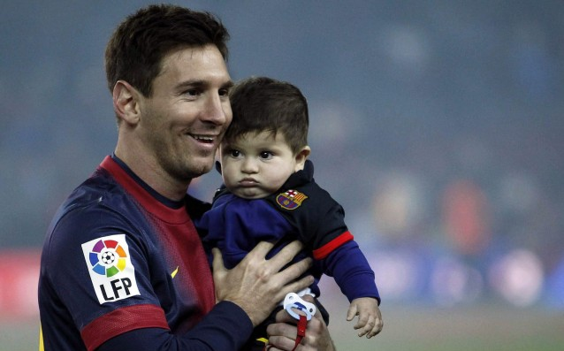 Messi became a dad for the second time