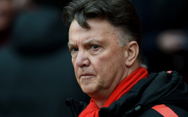 Van Gaal: 'We can't be champions, but we can beat Liverpool.'