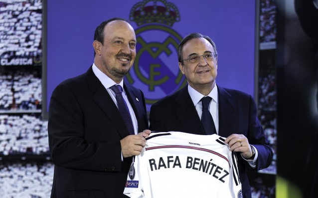 Perez: 'We won't get Mourinho back, Benitez is the better option for us.'