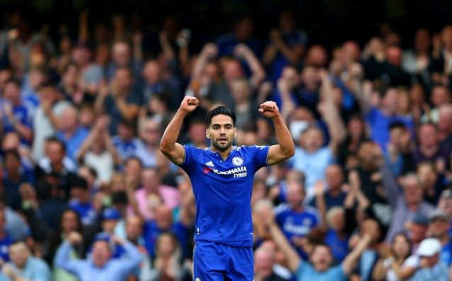 Falcao will lead the derby Chelsea vs. Everton