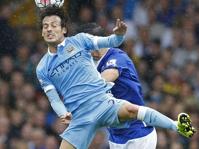 David Silva will be out of the match against Palace