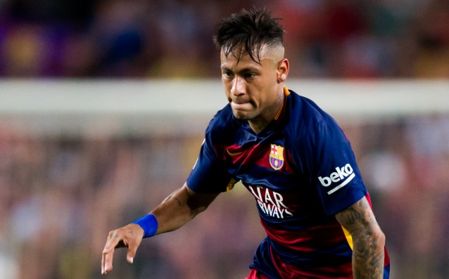 Neymar has already played 100 matches for Barca