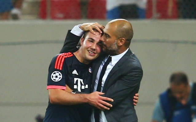 Guardiola: 'I love Gotze, I'm here to help him.'
