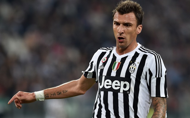 Juve lost Mandzukic for three weeks